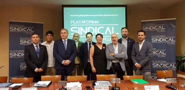 Rueda de Prensa 03/07/2019: Plataforma Sindical Plural